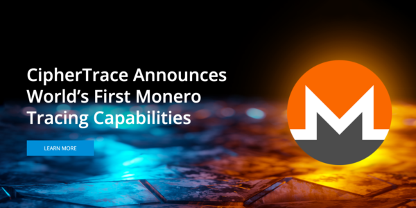 CipherTrace Announces World's First Monero Tracing Capabilities...